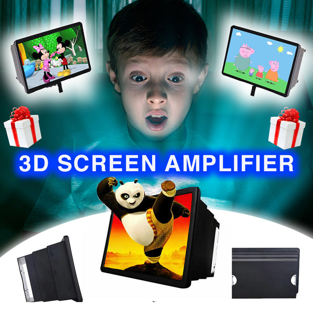 3D Screen Amplifier 🎁 Perfect for Parents & Childrens.