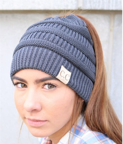 Slouch Ponytail Beanie!