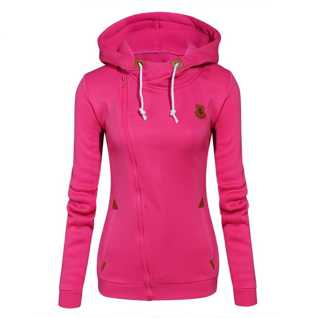 Women Fashion Fleece Sweatshirt