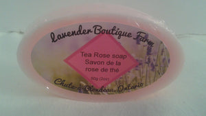 Soap bars with essential oils or essence