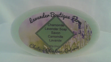 Lavender & Chamomile soap bar