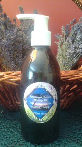 Sandalwood & Benzoin Massage Oil