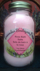 Rose Bath Salts