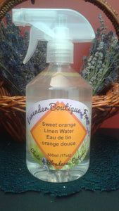 Sweet orange linen water