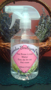 Rose linen spray