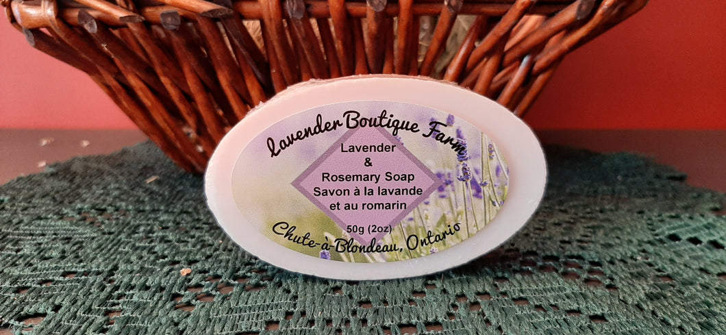 Lavender & Rosemary soap bar