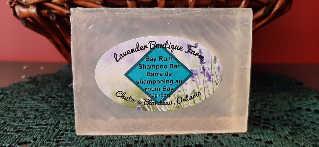 Bay Rum shampoo bar