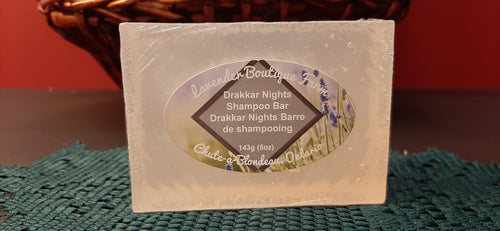Drakkar Nights shampoo bar