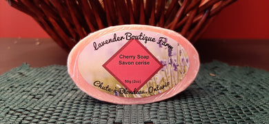 Cherry soap bar