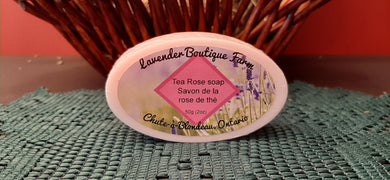 Tea Rose soap bar