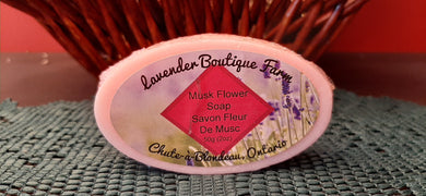Musk Flower soap bar