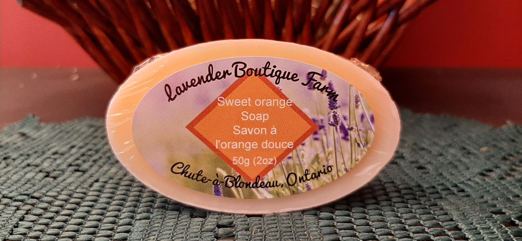 Sweet Orange soap bar
