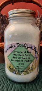 Lavender & Tea Tree Bath Salts