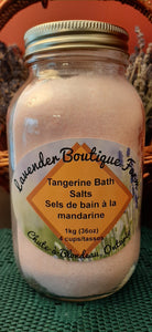 Tangerine Bath Salts