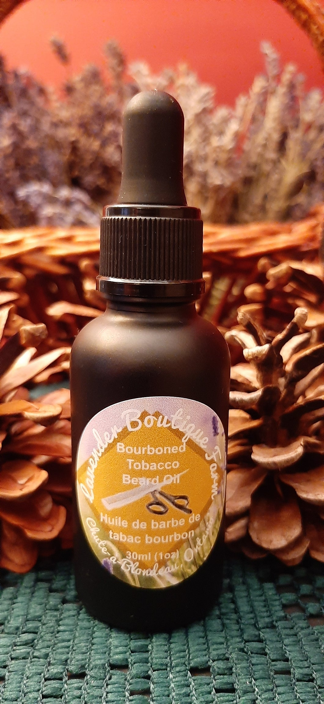 Bourboned Tobacco beard oil