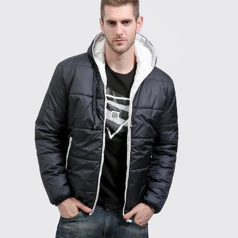 Casual Hoodied Cotton Padding Parka