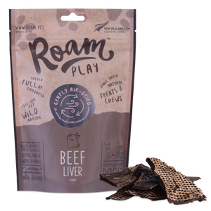 Roam Play Air-Dried Beef Liver 125g