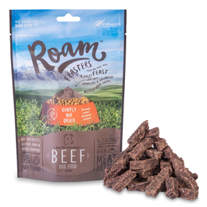 Roam Air-Dried Beef Feasters 150g