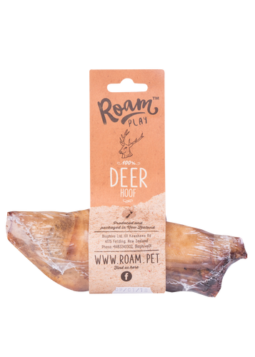 Roam Play Air-Dried Deer Hoof Single