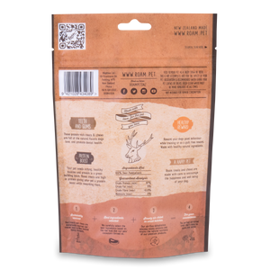 Export Overrun Roam Play Air-Dried Deer Paddywhack 100g