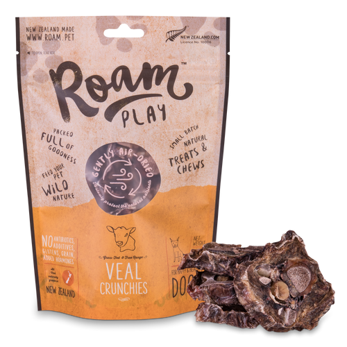 Roam Play Air-Dried Veal Crunchies 150g