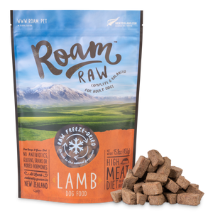 Roam Freeze-Dried Lamb Dog Food 450g