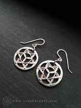 Flower of Life Earrings 2