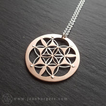 Double Layer Flower of Life Pendant