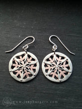 Flower of Life Earrings 1
