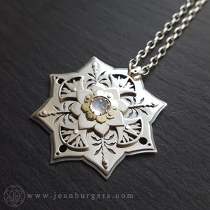 White Lotus Pendant