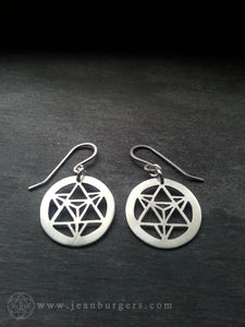 Star Tetrahedron Earrings