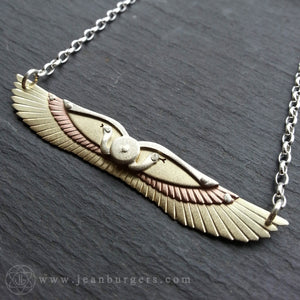 Egyptian Winged Disk Pendant