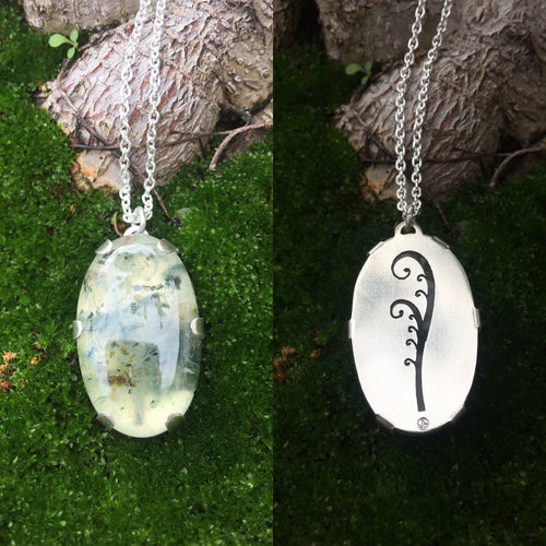 Fern Frond Pendant  ~Renewal Series~