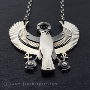 Custom Tutankhamun's Solar Falcon Pectoral for David Boyd-Carrigan