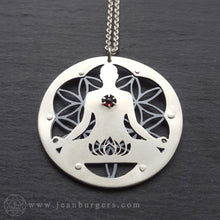 Garnet Creation Talisman - Goddess Series