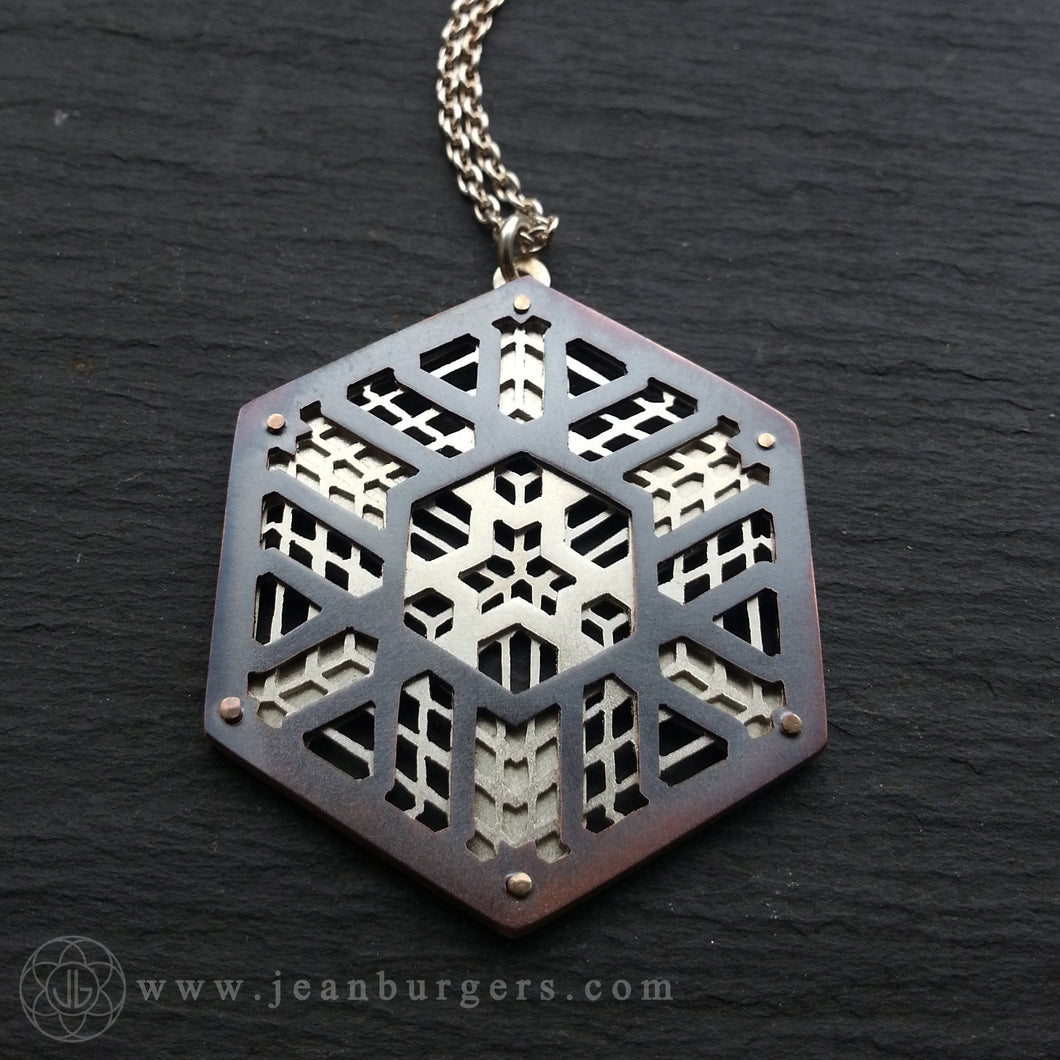 Cassady Bell Collaboration Pendant - Handcrafted by Jean Burgers Jewellery