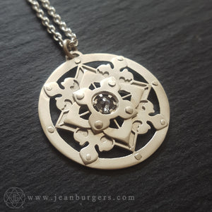 Geo Diamond Pendant