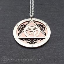Asanoha Eye of Ra Pendant