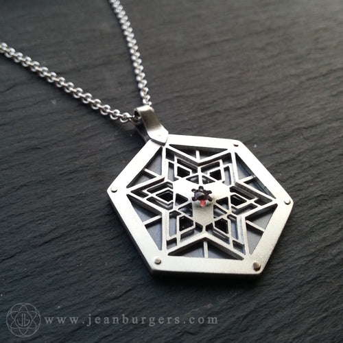 Red Garnet Star Talisman