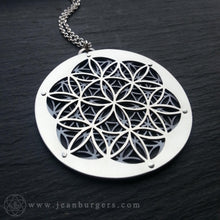 Flower and Seed of Life Pendant