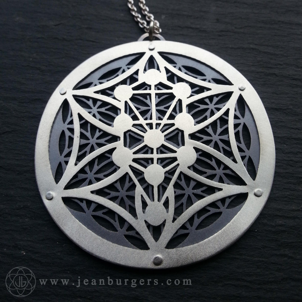 Kabbalah Flower of Life Pendant 1