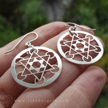 Metatron's Cube Earrings