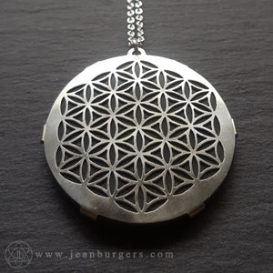 Pounamu Flower of Life Pendant