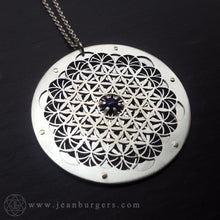 Intricate Flower of Life Pendant