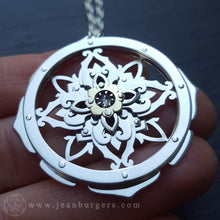 Pacific Flower Pendant