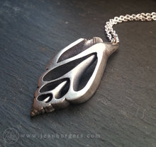 Silver Shell Pendant 1 - large