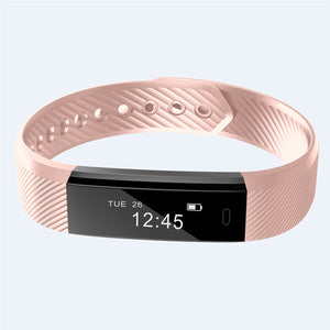 Bluetooth Smart Fitness & Heart Rate Tracker Watch
