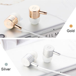 Langsdom i7A Wire Metal Earbuds with HD Mic