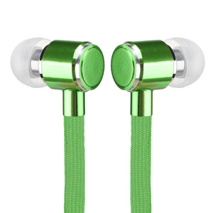FREEBIE - Shoelaces Stereo Earphones with Mic for hands-free phone calls