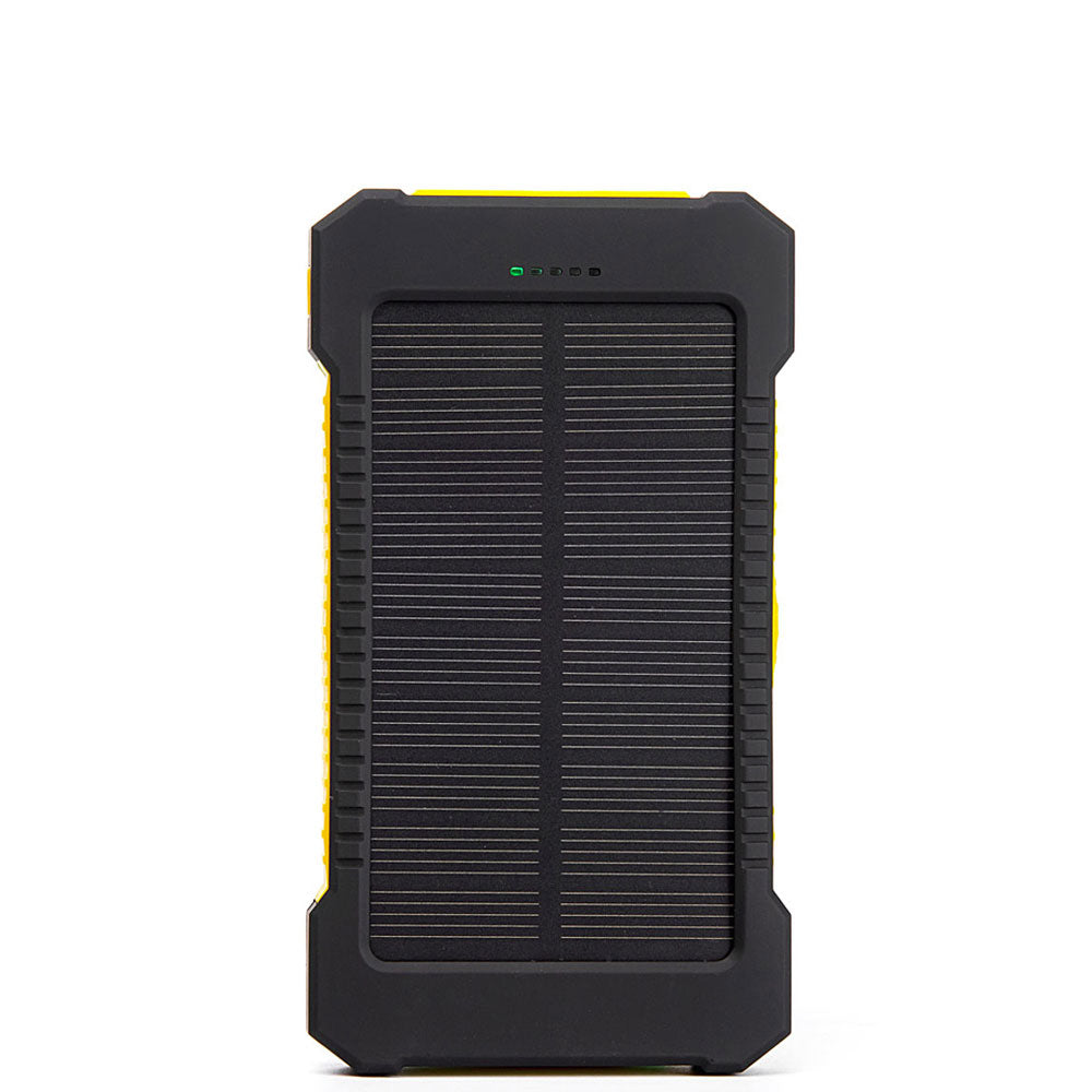 2X USB Solar Power Charger 10000mAh Waterproof-Shockproof-Integrated ...